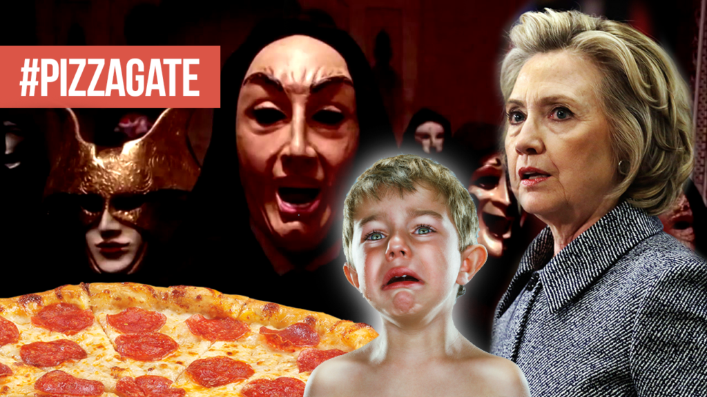 Image result for  Hillary Clinton ,pizzagate