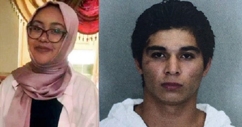Nabra Hassanen, 17, and her killer Darwin A. Martinez Torres. Click to enlarge