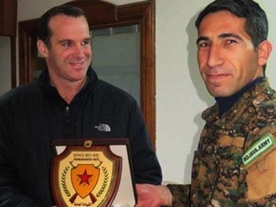 In February 2016, the White House « anti-terrorist Tsar », Brett McGurk, was sent by President Obama to supervise the battle of Aïn al-Arab (Kobane). On this occasion, he was decorated by the YPG (People's Protection Units), whose head office - the Turkish PKK – is nonetheless considered by Washington to be a « terrorist organisation »