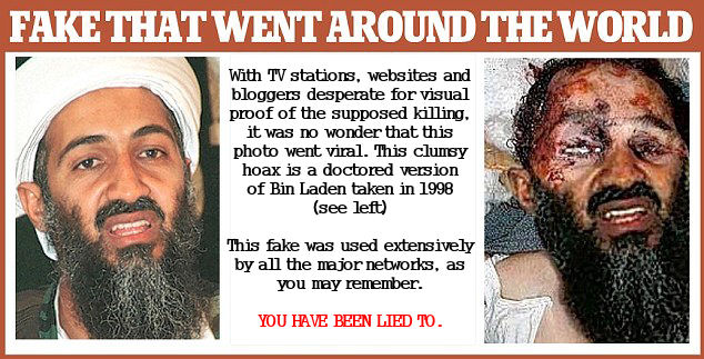 Fake news-bin-laden