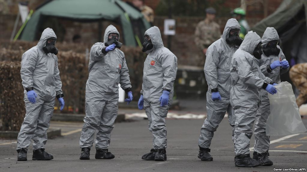 Chemical weapons team