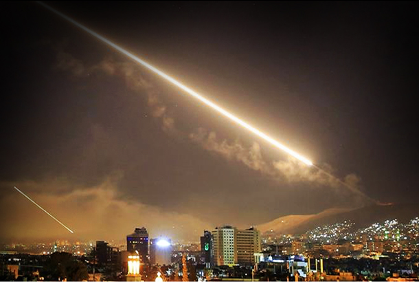 Missiles over Damascus