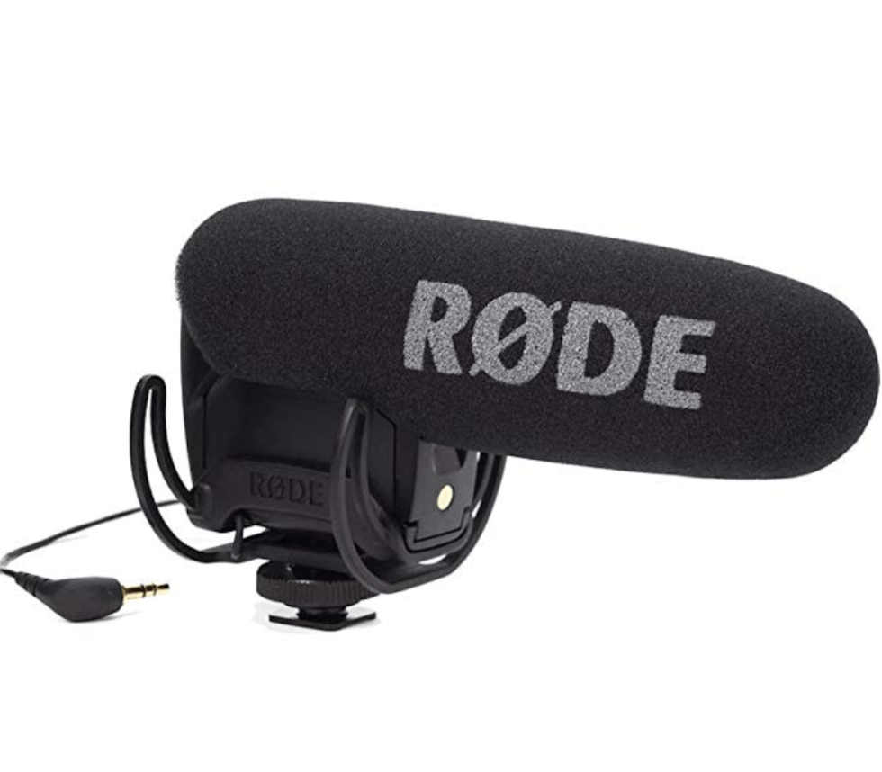 Rode Shotgun Microphone for YouTUbers