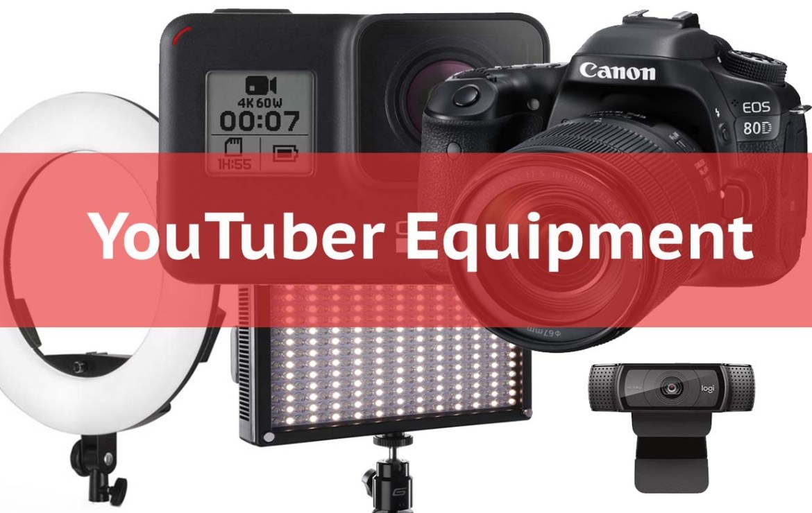 Best Equipment For YouTubers