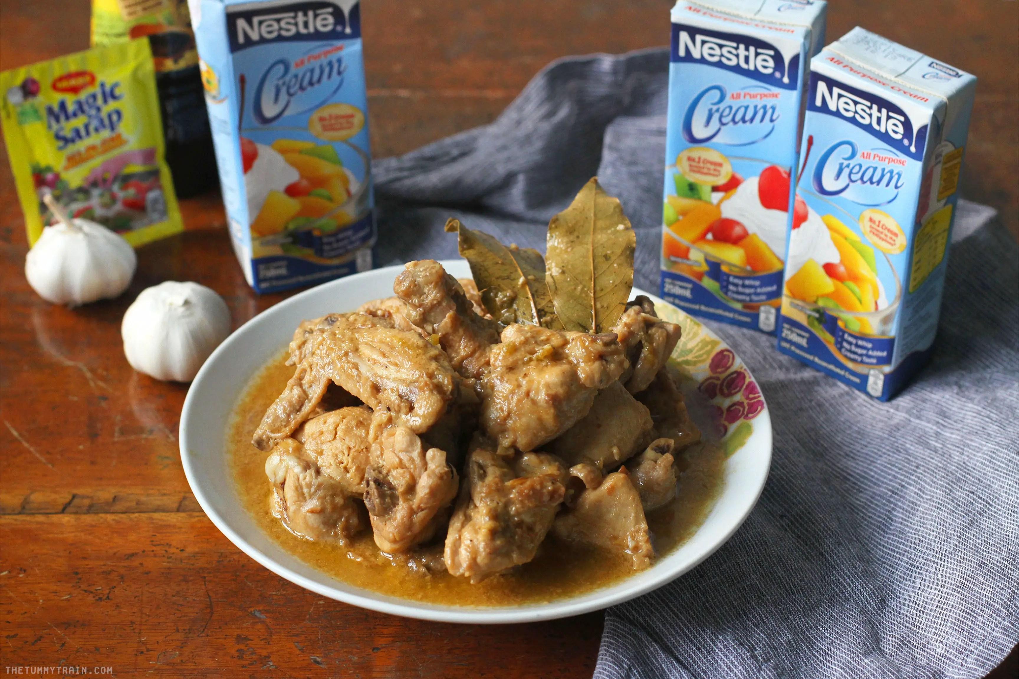 Creamy Chicken Adobo
