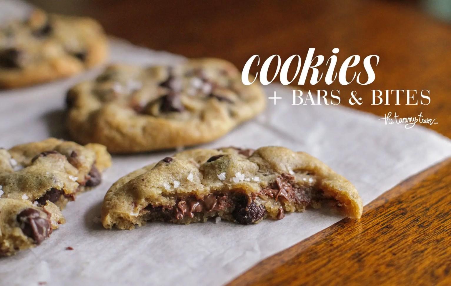 Cookies Bars The Tummy Train