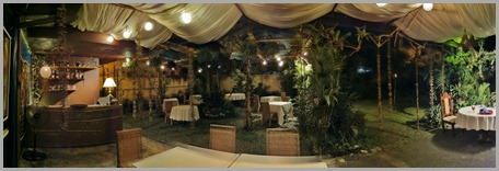 Panoramic shot of the place