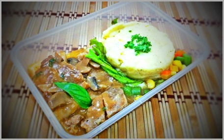 Porkloin Steak with Mashed Potato