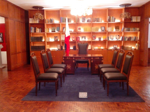 Office of the late President Ferdinand Marcos