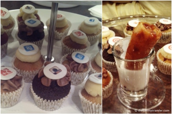 Social Media Cupcakes and Turon!