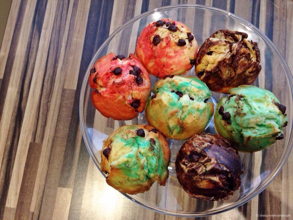Kenny Rogers Roasters Christmas Feast - muffins