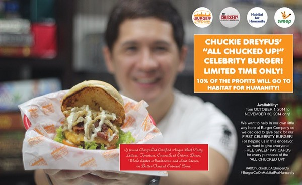 World Habitat Day 2014 - Habitat For Humanity Philippines - All Chucked Up Burger