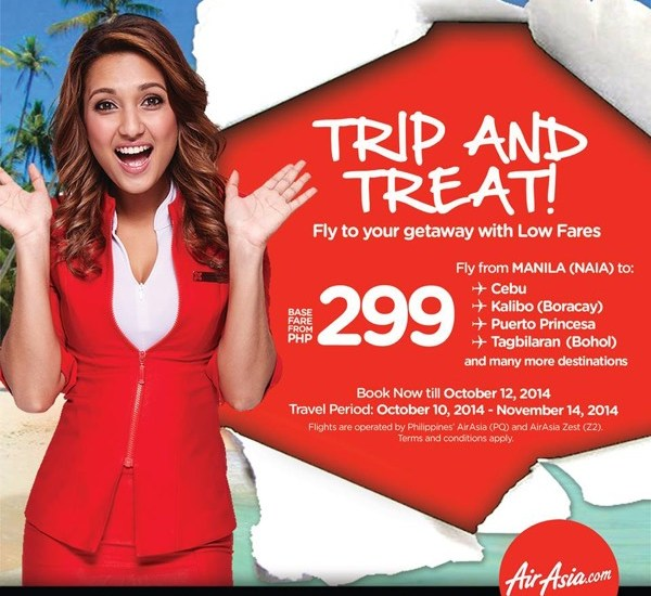 AirAsia Zest Trip and Treat