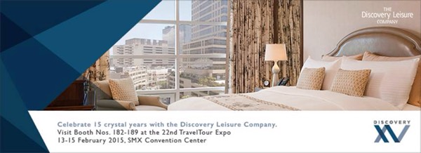 Discovery XV at PTAA Travel Tour Expo 2015