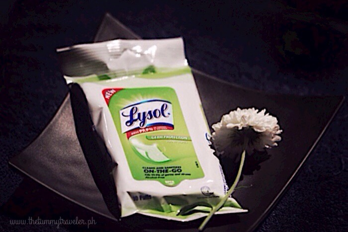 Lysol Germ Protection Hand Wipes... A healthy touch ...