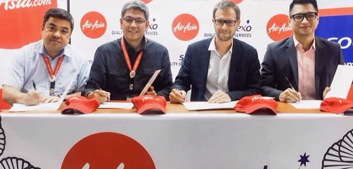 AirAsia and Sodexo partnership