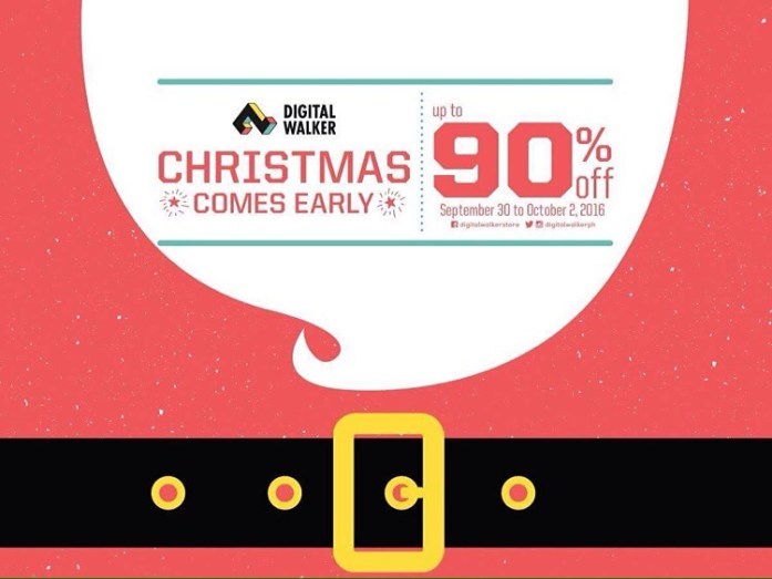 Digital Walker - Christmas Comes Early Sale