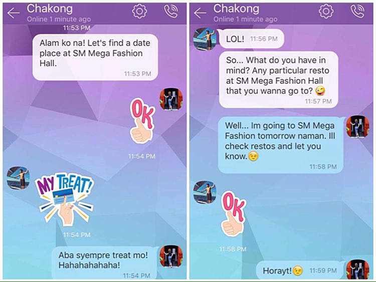 SM Supermalls Viber Sticker Pack