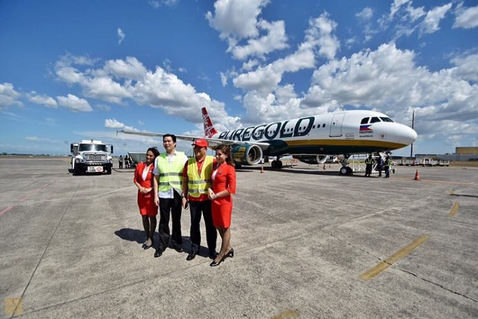 AirAsia Philippines - Puregold - Livery - Clark International Airport