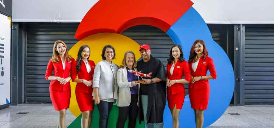 AirAsia Google Cloud