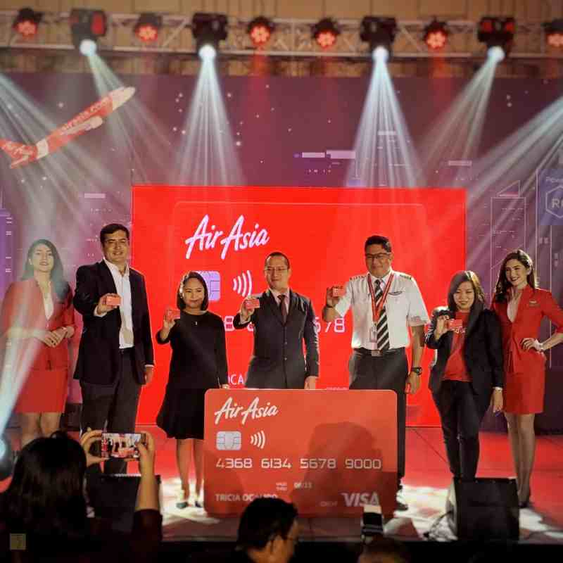 AirAsia Credit Card Powered By RCBC Bankard Is Now Here