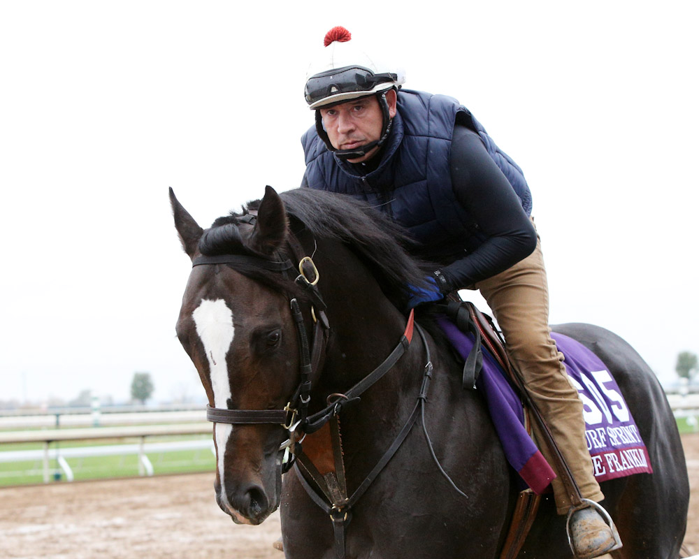 Joe Franklin - Morning Training - Keeneland - 102715