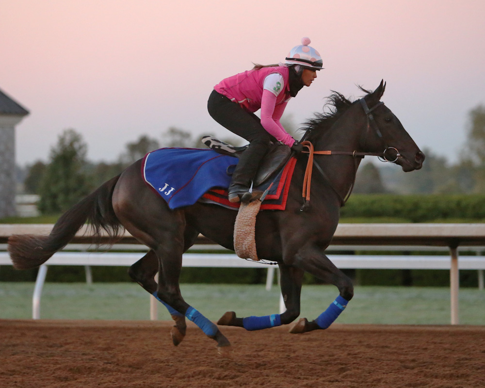 Nemoralia training at Keeneland - Keeneland Photo