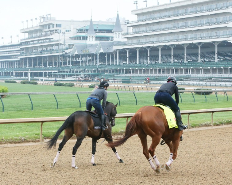 Whitmore galloping at Churchill Downs - Coady Photography