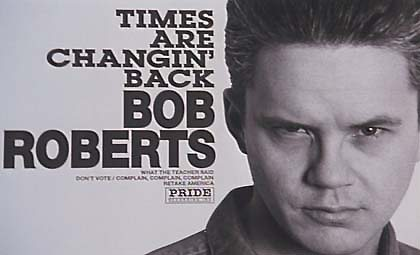 times are changin' back-bob roberts album cover