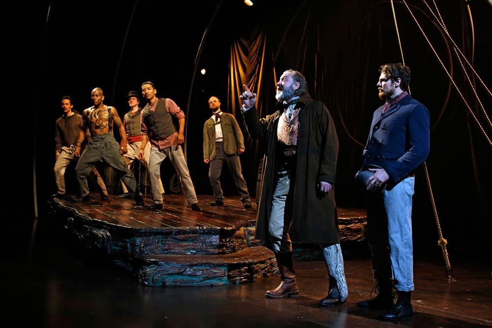 Lookingglass Moby Dick cast ensemble