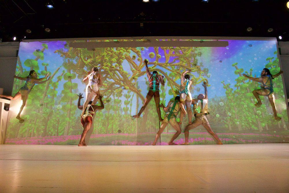 Not Man Apart Physical Theatre Ensemble-Paradise Lost