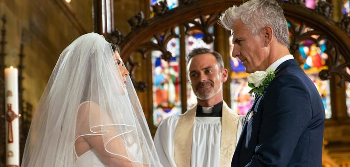 coronation street spoilers canada michelle robert wedding