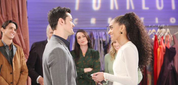 bold and the beautiful spoilers thomas throws a party for zoe