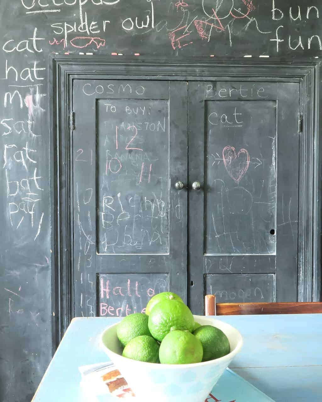New Tiles and Wenge Worktops {A brand new look for our old kitchen} by The Twinkle Diaries