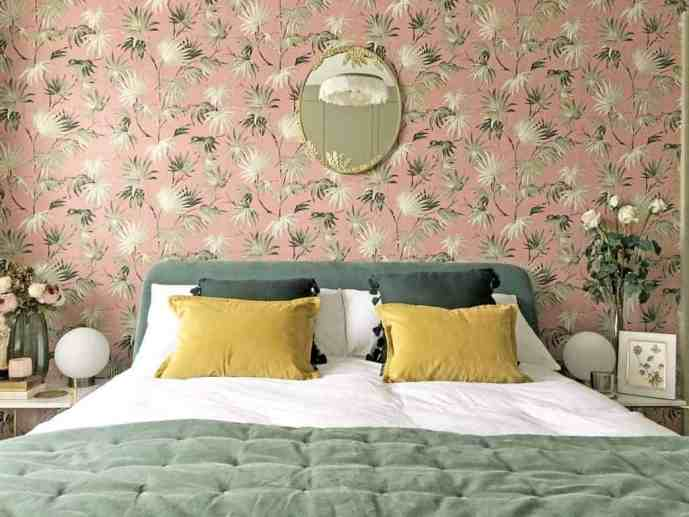 Art Deco Inspired Bedroom Makeover