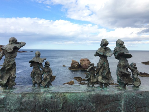 Commemoration sculpture for the Fishing Disaster
