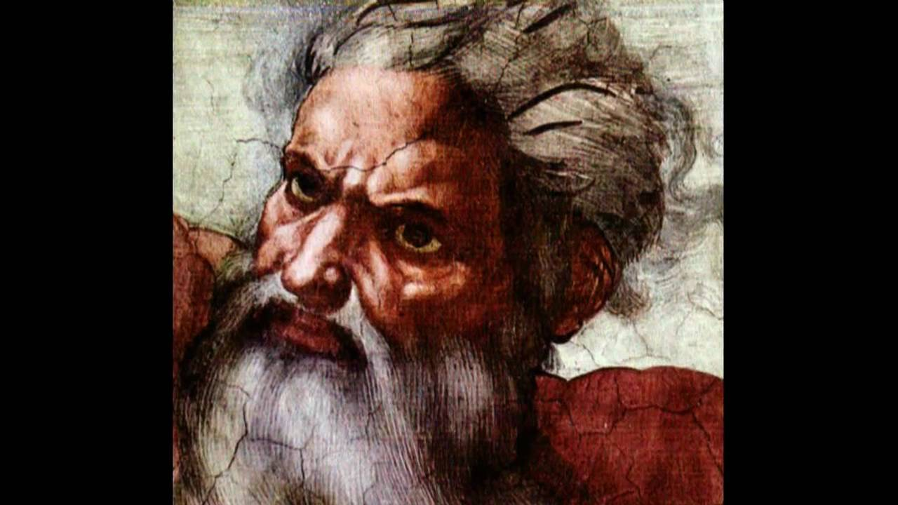 Image result for god as evil in art