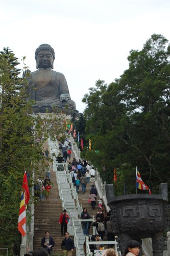 The Buddha in Lantau Island, Hong Kong