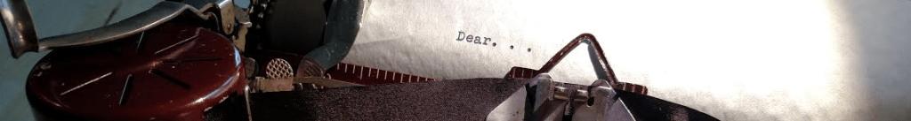 The Type Bar Dear Letter