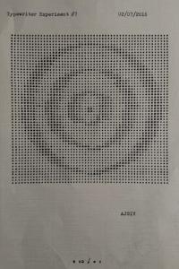 typewriter art type bar visual poetry