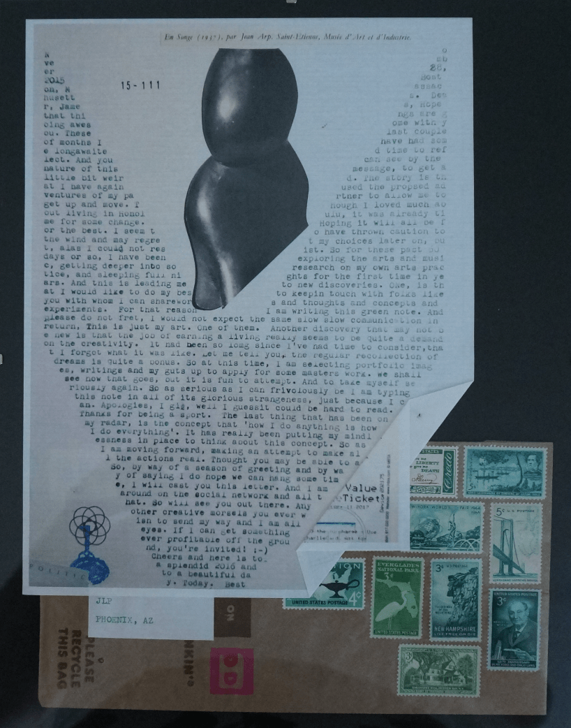 type bar interactive hand typed letter art experience type bar