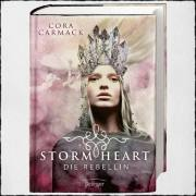 "Cover ""Stormheart - Die Rebellin"" von Cora Carmack Copyright: © 2017 Oetinger Verlag"