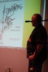 Teaching a bit of Zen Ukulele at Motor City Ukes