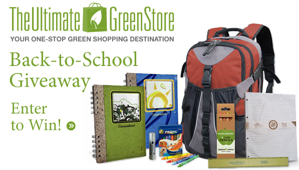 The Ultimate Green Store | Back to School Giveaway!