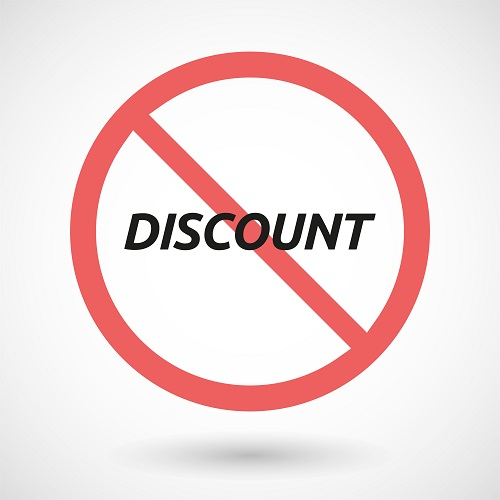 Discounting Is For The Birds