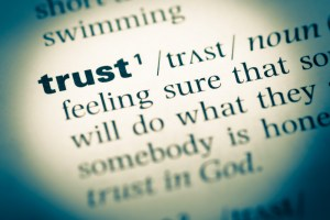 Customer Service [And Selling To Customers] Is All About The Transfer Of Trust.