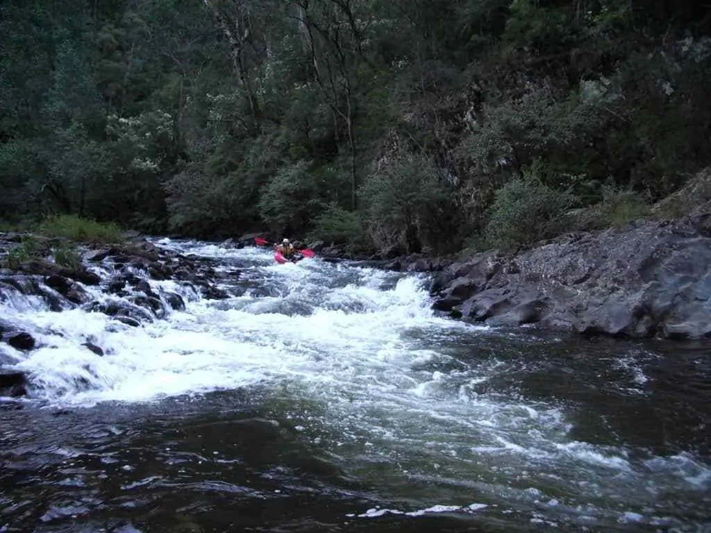 Two Days Canoeing the Thomson River