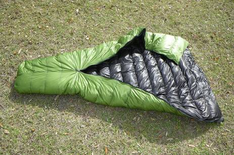 New Zpacks Sleeping Bag