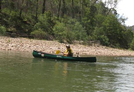 Canoeing in Gippsland