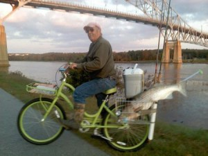 Fishing on a Bicycle.